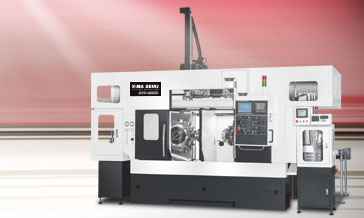 Parallel Twin Spindle Turning Center