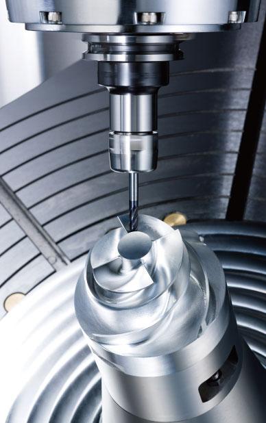 YAMA SEIKI - 5-Axis Gantry Type Machining Center FMV series