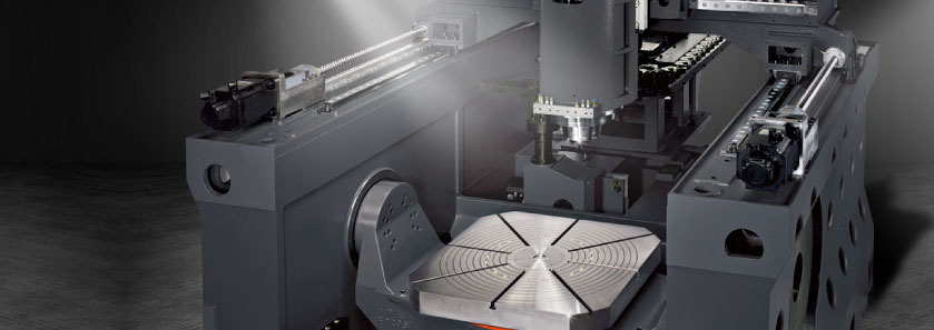 CNC 5-axis Gantry Type Machining Center FMV-99 construction close-up